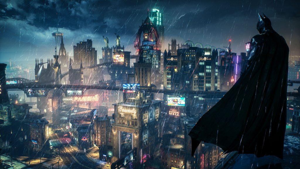 gotham, batman city, lugares imaginarios y fantásticos