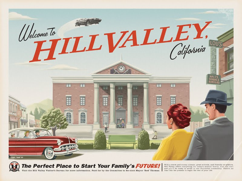 regreso al futuro, hill valley